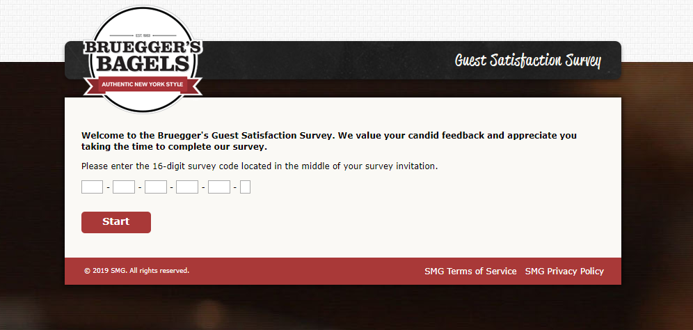 Bruegger-s-Guest-Satisfaction-Survey-Welcome