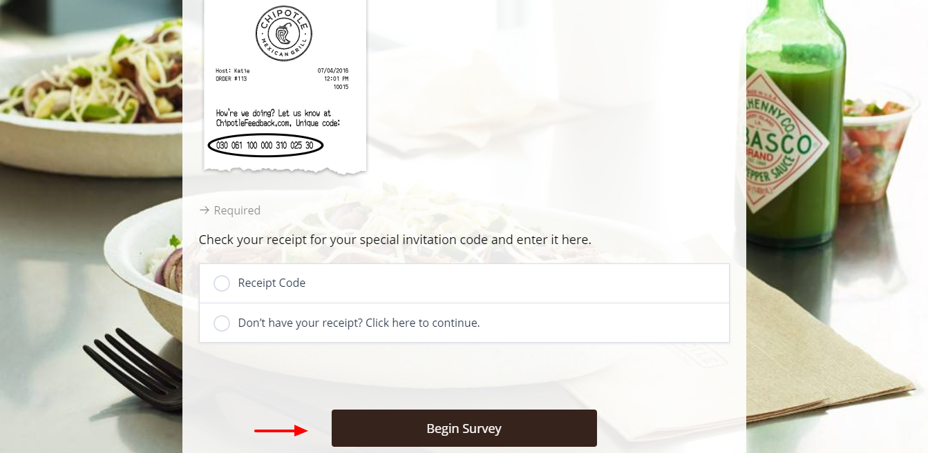 chipotle-Survey