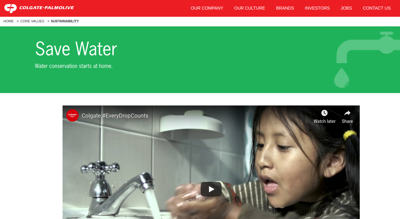 Sustainability-Save-Water-Commercial-Colgate-Logo