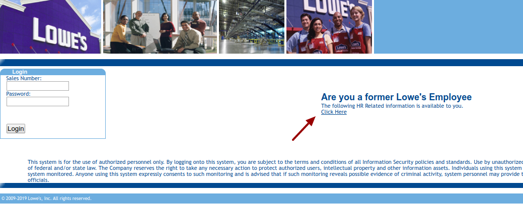 Lowes Employee Login