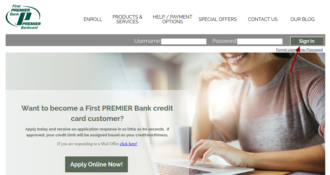 Premier Bank Card Online Sign In