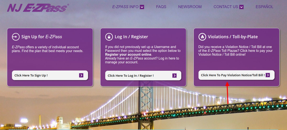 E-ZPass Bill Pay