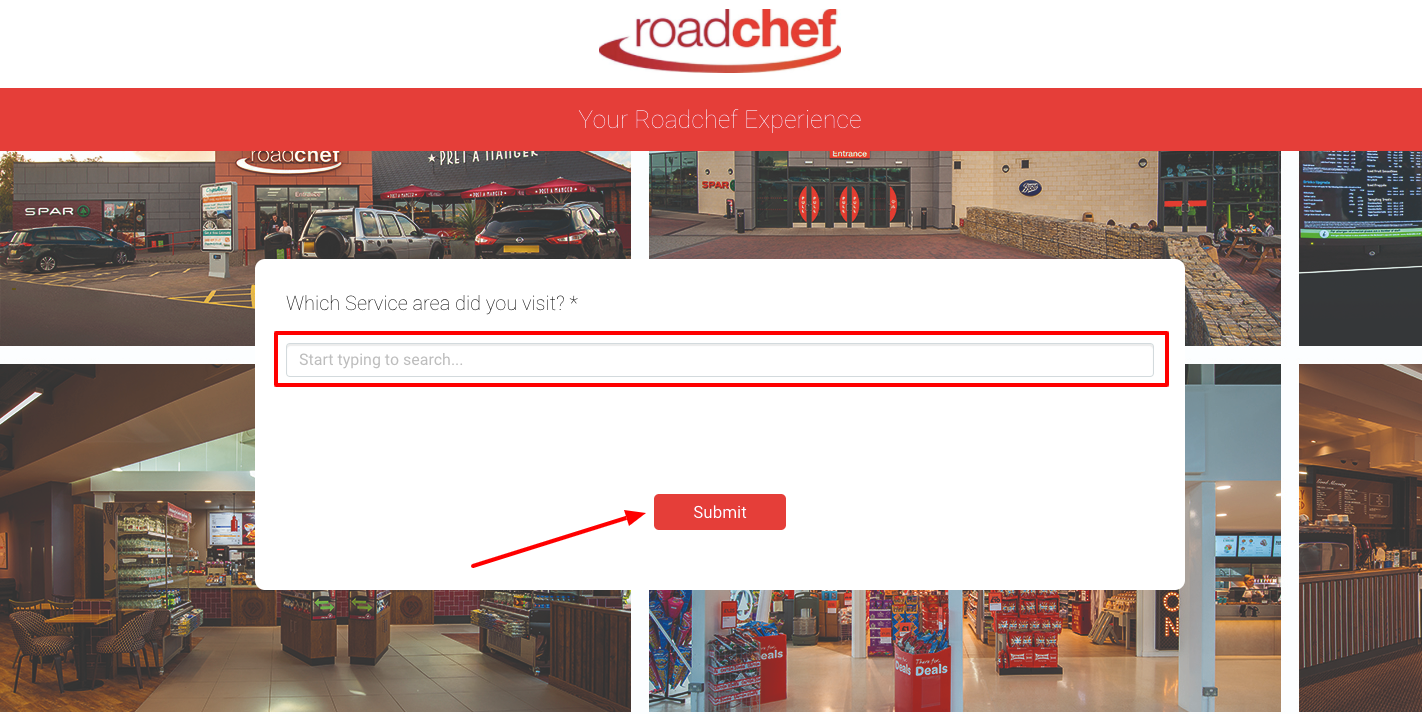 Roadchef Experience Survey