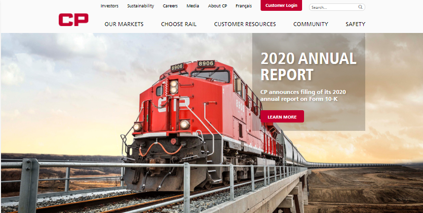Canadian Pacific Railway Employee login