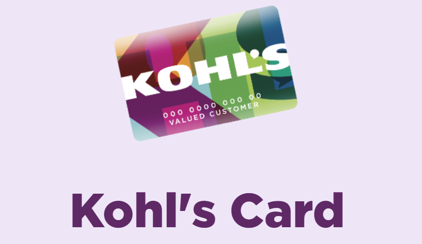 Kohl's Credit Card Payment
