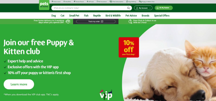 Pets at Home Tell Us Your Tail Survey